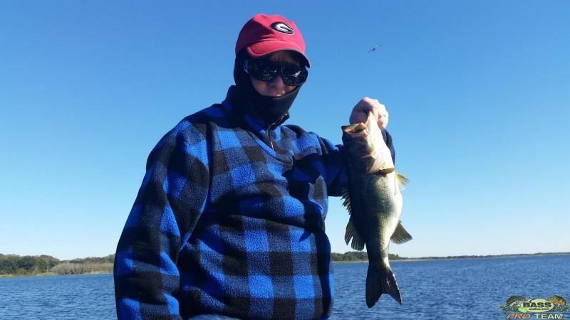 Lake Kissimmee Bass fishing report