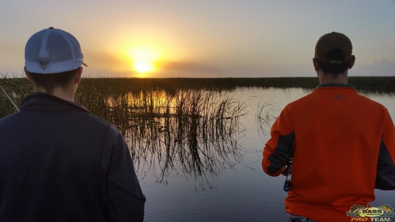 Bass fishing Lake Okeechobee report
