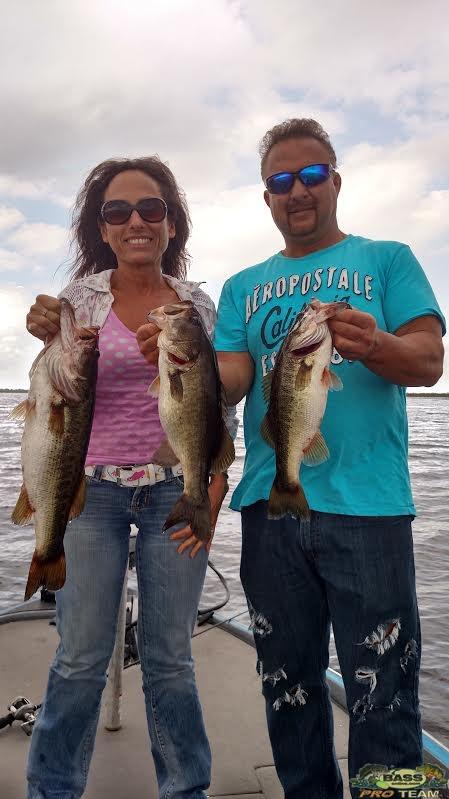 lake Okeechobee Largemouth Bass charters