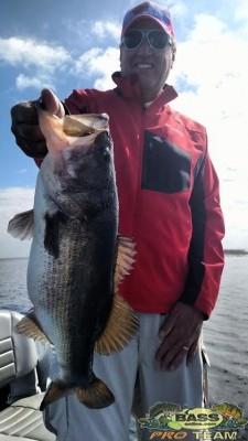 South Florida Bass Fishing guide Capt Brian Brown