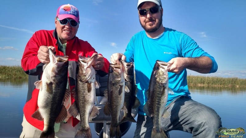 South Florida Bass Fishing guide Capt Brian Brown