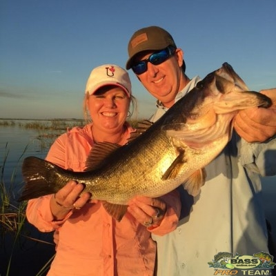 Lake Okeechobee Bass fishing Guide Capt Mark Rose