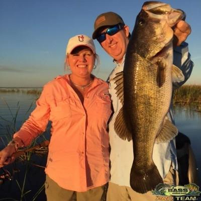 Lake Okeechobee Bass fishing Guide Capt Mark Rose