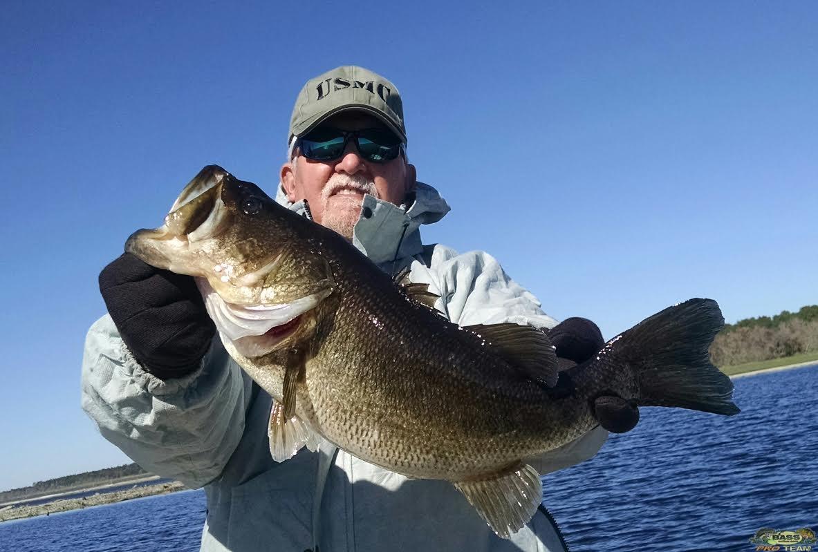 Rodman reservoir bass fishing guide capt steve bass for Bass fishing guide
