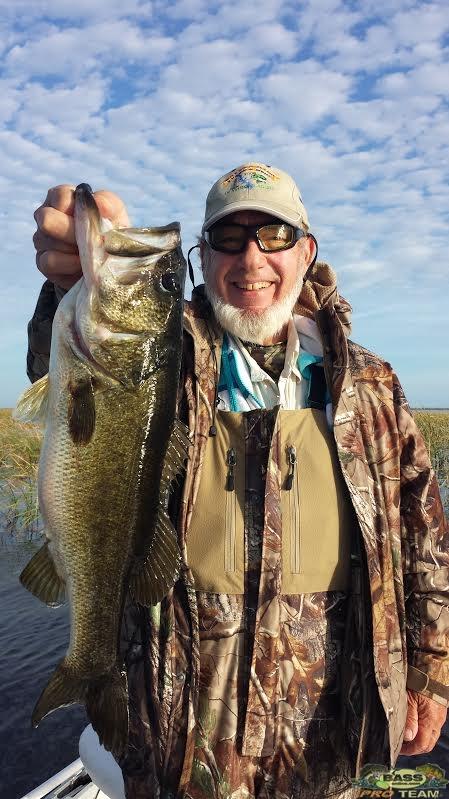 Largemouth Bass Lake Okeechobee Guide Capt Mark Shepard