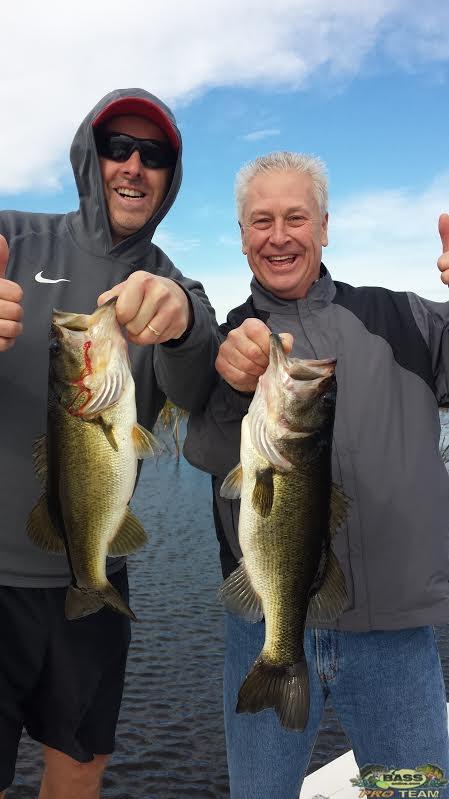 Lake Okeechobee Bass Fishing Captain Mark Shepard