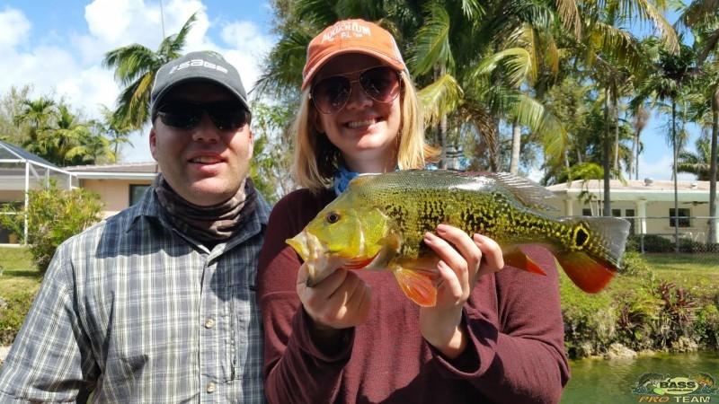 Florida Peacock Bass Fishing Guide Capt Robert Miley