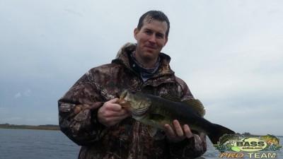 Customers First time Bass Fishing on Lake Toho
