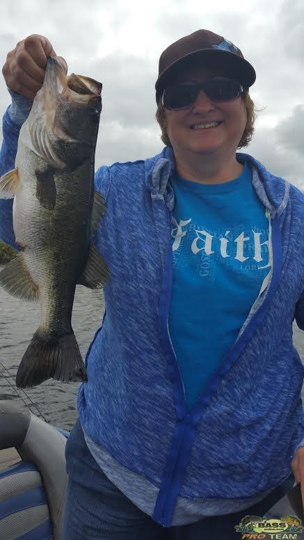 six pound Largemouth Bass