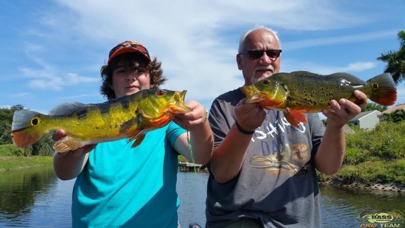 South Florida Peacock Bass Fishing Capt Robert Miley