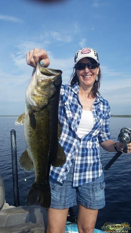 Customers First time Bass Fishing on Lake Toho
