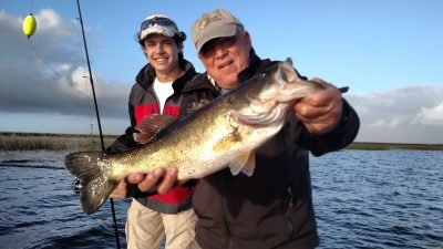 4 hours with Victor and his grandson Brad on Lake Okeechobee