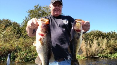 Okeechobee City Cold Front Bass Fishing