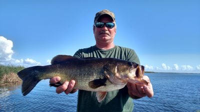 We were on the West side of Lake Okeechobee today Ron Powers 1