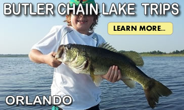 Butler Chain of lakes Bass Fishing trips