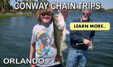 Conway Chain Bass Fishing Trips