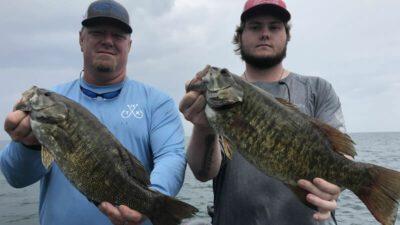 Lake Erie Smallie Fishing 1
