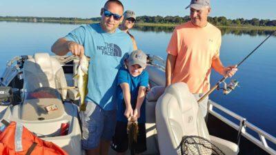 November Pontoon Bass Fishing 1