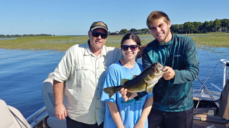 November Pontoon Bass Fishing