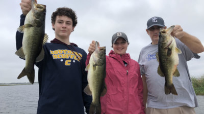 February Kenansville Bass Fishing 2