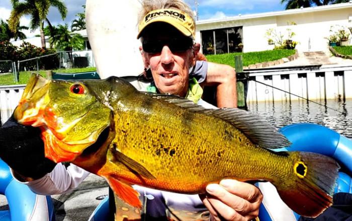 February Lake Ida Fishing