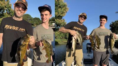 February Lake Ida Fishing 2