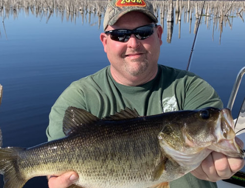February Rodman Reservoir Fishing Trips for Trophy Largemouth Bass