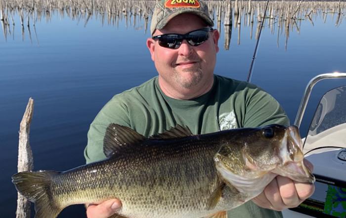 February Rodman Reservoir Fishing