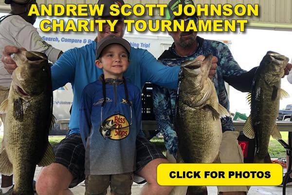 Andress Scott Johnson Charity fishing event